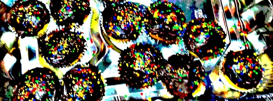 Delicious cupcakes prepared by a friendly CSM member.