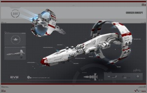 A Sisters of EVE exploration cruiser.  The design is awesome.  Must have.