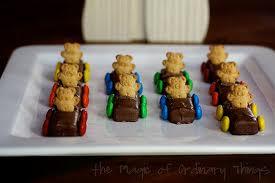 Kiwi Chocolate Bears. It's funny. Trust me.