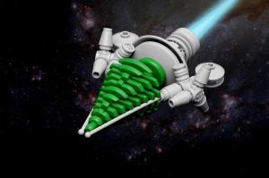 Honey Badger Lego Spaceship