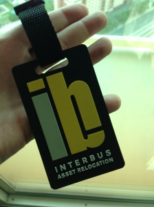 $10 luggage tag - oh my, But the quality is decent